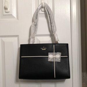 NWT Kate Spade Small Phoebe Black leather purse